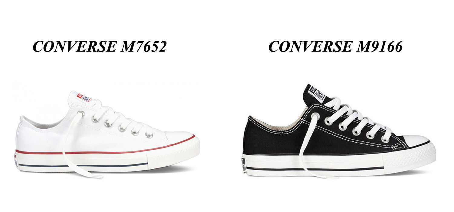 Details about Converse All Star Ox Chucks White M7652Black M9166 Size EUR 35 46 + Gift show original title