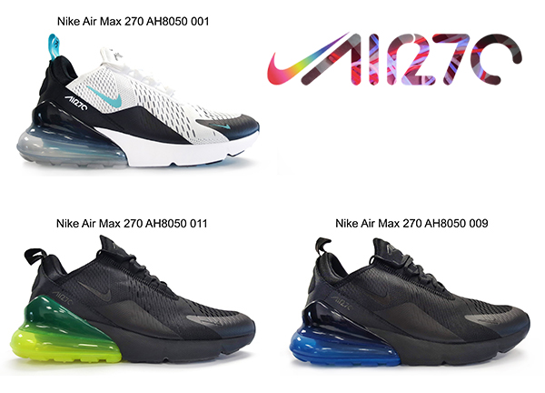 Details about Nike Air Max 270 Mens Shoes 3 xfarben Size US 8 12 + Gift show original title
